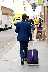 Humza Yousaf heads to the Scottish parliament | Edinburgh | 15 June 2017