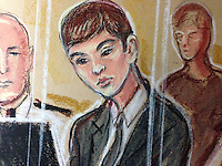 Will Cornick, now 16, was 15-years-old when he stood behind Mrs Maguire, 61, and stabbed her seven times as she taught a Spanish class at Corpus Christi Catholic College, Leeds