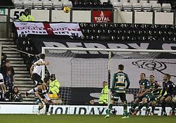Derby's John Eustace scores the first goal - Photo mandatory by-line: Matt Bunn/JMP - Tel: Mobile: 07966 386802 10/02/2014 - SPORT - FOOTBALL - Derby - Pride Park - Derby County v QPR - Sky Bet Championship