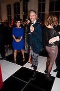 ROBERT KUPISZ, La Mania launch party. The Royal Academy. Burlington St. London. 16 February 2012.