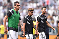 Mario Mandzukic Paulo Dybala Juventus Cristiano Ronaldo Juventus <br /> Torino 16-09-2018 Allianz Stadium Football Calcio Serie A 2018/2019 Juventus - Sassuolo <br /> Foto Andrea Staccioli / Insidefoto