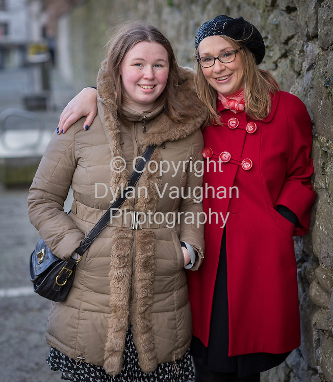 26/1/2014<br /> <br /> Maria Dollard and her daughter Lucy pictured in Kilkenny.<br /> <br /> Picture: Dylan Vaughan