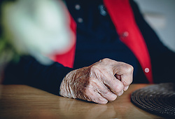 THEMENBILD - die Hand einer alten Dame liegt auf einem Tisch, aufgenommen am 15. Februar 2020 in Kaprun, Oesterreich // an old lady's hand is on a table, in Kaprun, Austria on 2020/02/15. EXPA Pictures © 2020, PhotoCredit: EXPA/Stefanie Oberhauser