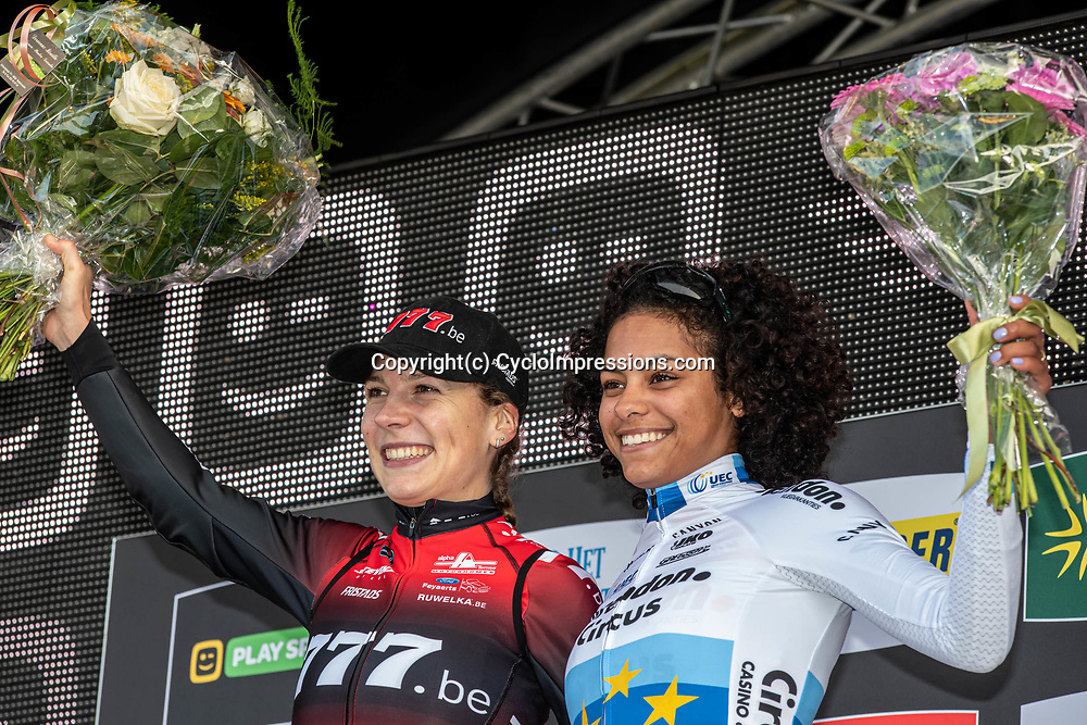 2019-10-27: Cycling: Superprestige: Gavere: Ceylin del Carmen Alvarado wins the race of the U23, Yara Kastelijn is the new leader in the overall classement
