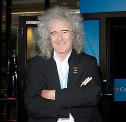 Brian May at the Hyatt during the Conservative Party Conference, ICC, Birmingham, Great Britain, October 9, 2012. Photo by Elliott Franks / i-Images.