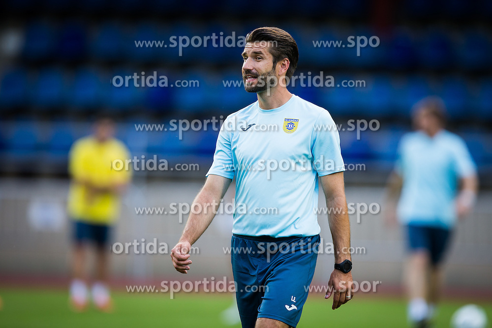 Luka Elsner, head coach of NK Domzale during practice session before football match between NK Domzale and FC Lusitanos Andorra in second leg of UEFA Europa league qualifications on July 6, 2016 in Andorra la Vella, Andorra. Photo by Ziga Zupan / Sportida