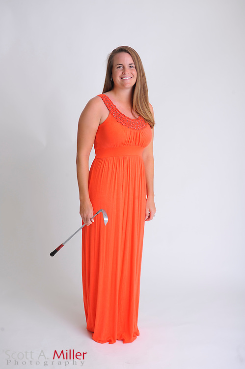 Jackie Barenborg during a portrait shoot prior to the Symetra Tour's Florida's Natural Charity Classic at the Lake Region Yacht and Country Club on March 19, 2012 in Winter Haven, Fla. ..©2012 Scott A. Miller.