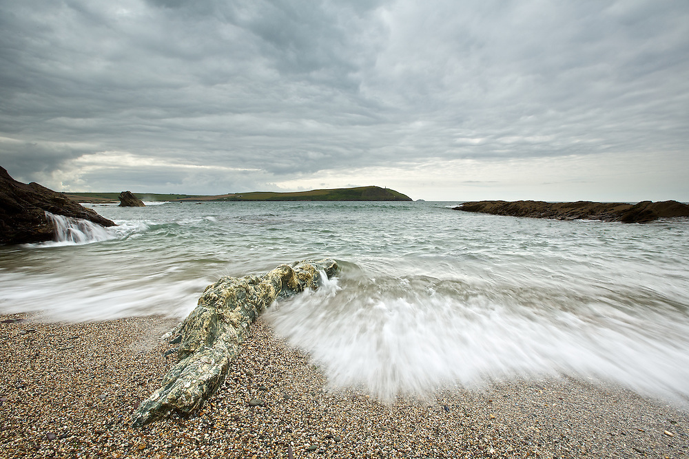 Landscape photography, Greenaway Beach, North Cornwall
