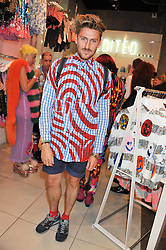HENRY HOLLAND at a party to celebrate the launch of Louise Gray's make-up and clothing collections for Topshop held at Topshop Edited, 286 Regent Street, London on 22nd August 2012.