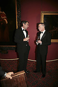 Alan Hansen and Gary Rhodes, Morgan Stanley Great Briton 2006. The Guildhall. Basinghall st. London. 18 January 2006. h by Dafydd Jones. 248 Clapham Rd. London SW9 0PZ. Tel 0207 820 0771. www.dafjones.com.