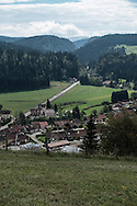 Doubs Joux castle area