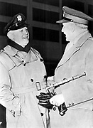 Henry Harley Arnold (1886-1950) American air force officer: chief of US Army Air Forces 1941, with British Field Marshal John Dill during World War II