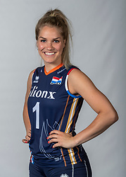 10-05-2018 NED: Team shoot Dutch volleyball team women, Arnhem<br /> Kirsten Knip #1 of Netherlands