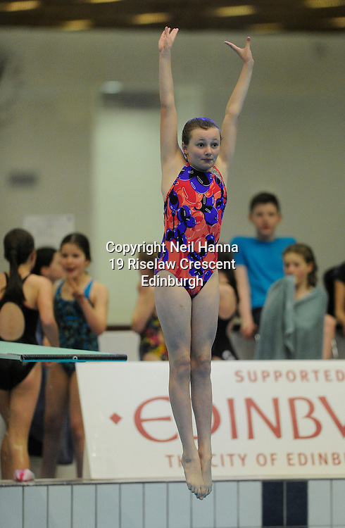 Scottish National Diving Championships & Thistle Trophy 2015<br /> <br /> Event 17 Novice Girls 10/11 years<br /> <br /> Royal Commonwealth Pool, Edinburgh<br /> <br /> <br />  Neil Hanna Photography<br /> www.neilhannaphotography.co.uk<br /> 07702 246823