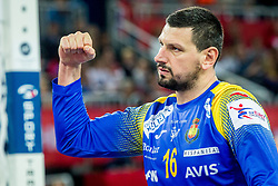 Arpad Sterbik (ESP) during handball match between National teams of Spain and Sweden in Final match of Men's EHF EURO 2018, on January 28, 2018 in Arena Zagreb, Zagreb, Croatia . Photo by Ziga Zupan / Sportida