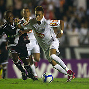 Young Brazilian footballer and rising star Neymar in action for Santos during the Vasco V Santos, Futebol Brasileirao League match at the Sao Januario Stadium, Rio de Janeiro,  Brazil. 28th September 2010. Photo Tim Clayton.
