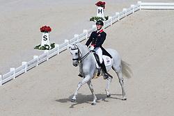 Michael Eilberg, (GBR), Half Moon Delphi - Grand Prix Team Competition Dressage - Alltech FEI World Equestrian Games™ 2014 - Normandy, France.<br /> © Hippo Foto Team - Leanjo de Koster<br /> 25/06/14