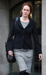 © London News Pictures. 08/03/2013. London, UK. Former Chief Executive Officer of News International REBEKAH BROOKS leaving The Old Bailey court in London where she faces charges related to the police investigation into phone hacking at News International and payments to officials. Photo credit: Ben Cawthra/LNP