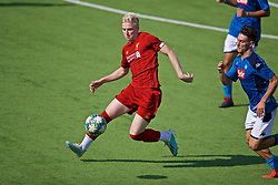 NAPLES, ITALY - Tuesday, September 17, 2019: Liverpool's substitute Luis Longstaff during the UEFA Youth League Group E match between SSC Napoli and Liverpool FC at Stadio Comunale di Frattamaggiore. (Pic by David Rawcliffe/Propaganda)