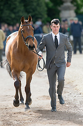 Ugolotti Giovanni, (ITA), Stilo Kontika<br /> First Horse Inspection - Mitsubishi Motors Badminton Horse Trials <br /> Badminton 2015