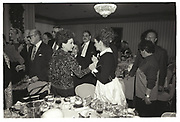 Cindy Adams, Leona Helmsley,, Imelda Marcos. Joey Adams party. New York. 7/1/90.