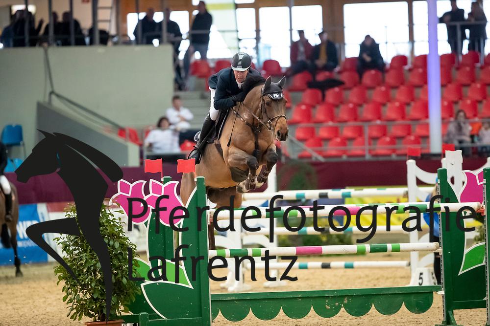 KLAPROTH Dirk (GER), Vasko 20<br /> Neustadt-Dosse - CSI 2019<br /> Preis der Hengststation Maas J. Hell GmbH<br /> Large Tour<br /> 11. Januar 2019<br /> © www.sportfotos-lafrentz.de/Stefan Lafrentz