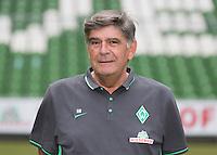 German Soccer Bundesliga 2015/16 - Photocall of Werder Bremen on 10 July 2015 in Bremen, Germany: Physiotherapist Holger Berger