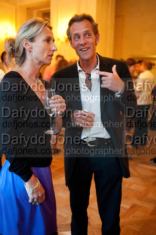 DAISY WAUGH; JOSH SHAKERLEY, Imogen Edwards-Jones - book launch party for ' Hospital Confidential' Mandarin Oriental Hyde Park, 66 Knightsbridge, London, 11 May 2011. <br />  <br /> -DO NOT ARCHIVE-© Copyright Photograph by Dafydd Jones. 248 Clapham Rd. London SW9 0PZ. Tel 0207 820 0771. www.dafjones.com.