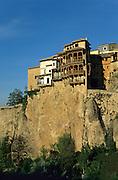 Casas Colagadas (hanging houses).Cuenca, La Mancha, Spain