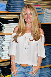DONNA IDA THORNTON at a party to celebrate the paperback lauch of The Stylist by Rosie Nixon hosted by Donna Ida at her store at 106 Draycott Avenue, London on 17th August 2016.