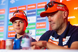 Alex Cisar during press conference of Slovenian Nordic Ski Cross country team before new season 2019/20, on Novamber 12, 2019, in Petrol, Ljubljana, Slovenia. Photo Grega Valancic / Sportida