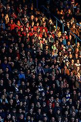 Chelsea fans look on - Photo mandatory by-line: Rogan Thomson/JMP - 07966 386802 - 13/12/2014 - SPORT - FOOTBALL - London, England - Stamford Bridge - Chelsea v Hull City - Barclays Premier League.