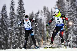 March 8, 2019 - –Stersund, Sweden - 190308 Johanna Talihaerm of Estonia and Veronika Vitkova of Czech Republic competes in the Women's 7.5 KM sprint during the IBU World Championships Biathlon on March 8, 2019 in Östersund..Photo: Petter Arvidson / BILDBYRÃ…N / kod PA / 92247 (Credit Image: © Petter Arvidson/Bildbyran via ZUMA Press)