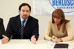 CANDIDATI PDL ELEZIONI 2013: LUCA CIMARELLI CON ANNA MARIA BERNINI