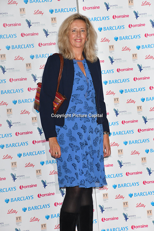 Women of the Year Lunch and Awards at Intercontinental Hotel Park Lane, London, UK. 15 October 2018.