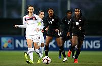 International Women's Friendly Matchs 2019 / <br /> Norway v Canada 0-1 ( La Manga Club - Cartagena,Spain ) - <br /> Caroline Graham Hansen of Norway (10-L) ,challenge with Ashley Lawrence (10) and Nichelle Prince (15) of Canada