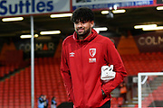 Philip Billing (29) of AFC Bournemouth on the pitch ahead of the The FA Cup match between Bournemouth and Arsenal at the Vitality Stadium, Bournemouth, England on 27 January 2020.