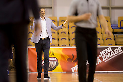 Jurica Golemac, head caoch of KK SIXT Primorska during basketball match between KD Ilirija and KK Sixt Primorska in Playoffs of Liga Nova KBM 2017/18, on April 25, 2018 in Tivoli sports hall, Ljubljana, Slovenia. Photo by Urban Urbanc / Sportida