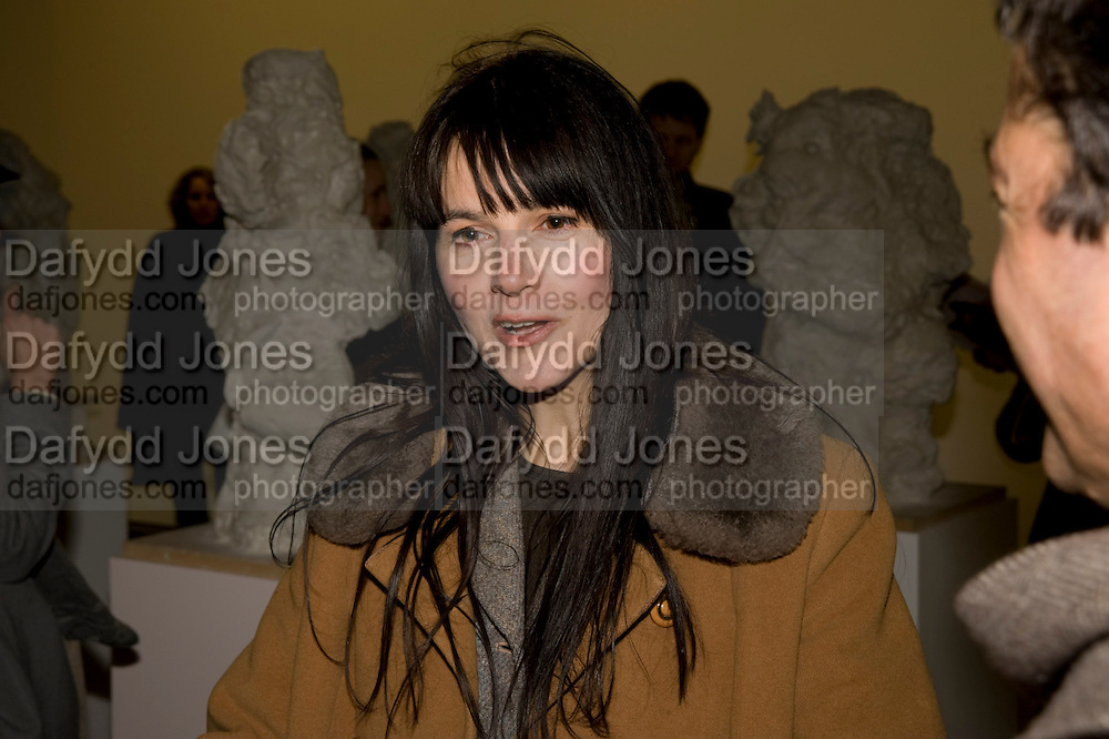 GILLIAN WEARING, Rebecca Warren exhibition opening at the Serpentine Gallery. London.  9 March  2009 *** Local Caption *** -DO NOT ARCHIVE -Copyright Photograph by Dafydd Jones. 248 Clapham Rd. London SW9 0PZ. Tel 0207 820 0771. www.dafjones.com<br /> GILLIAN WEARING, Rebecca Warren exhibition opening at the Serpentine Gallery. London.  9 March  2009