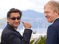 Asif Kapadia and Chris King at Diego Maradona film photo call at the 72nd Cannes Film Festival, Monday 20th May 2019, Cannes, France. Photo credit: Doreen Kennedy
