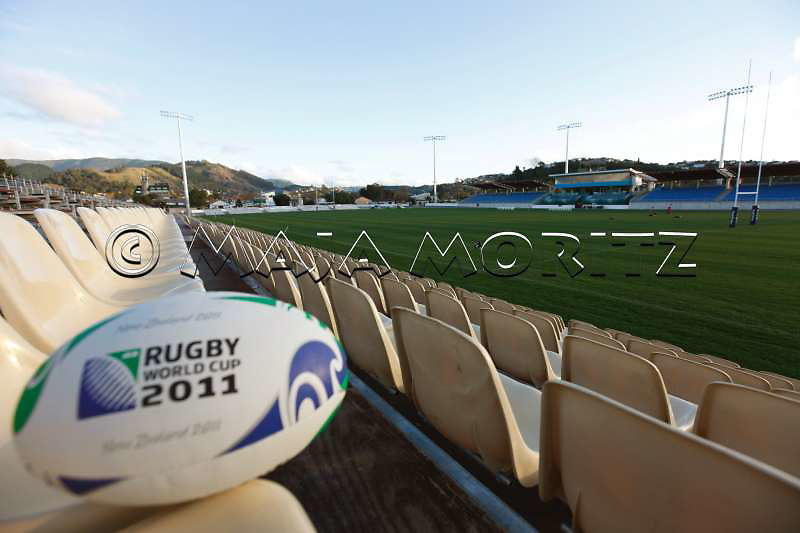 Trafalgar Park in Nelson has a capacity of 20.000 seats for the Rugby WC 2011, pool matches with the teams of Italy, Russia, USA, and Australia will be played here
