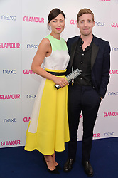 EMMA WILLIS and RICKY WILSON at the Glamour Women of The Year Awards in Association with Next held in Berkeley Square Gardens, Berkeley Square, London on 3rd June 2014.