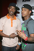 l to r: Datwon Thomas and Yung Berg at ' The Real Chill Town' presented KING Magazine & Budweiser hosted by King Web Girl of the Year Milani Rose