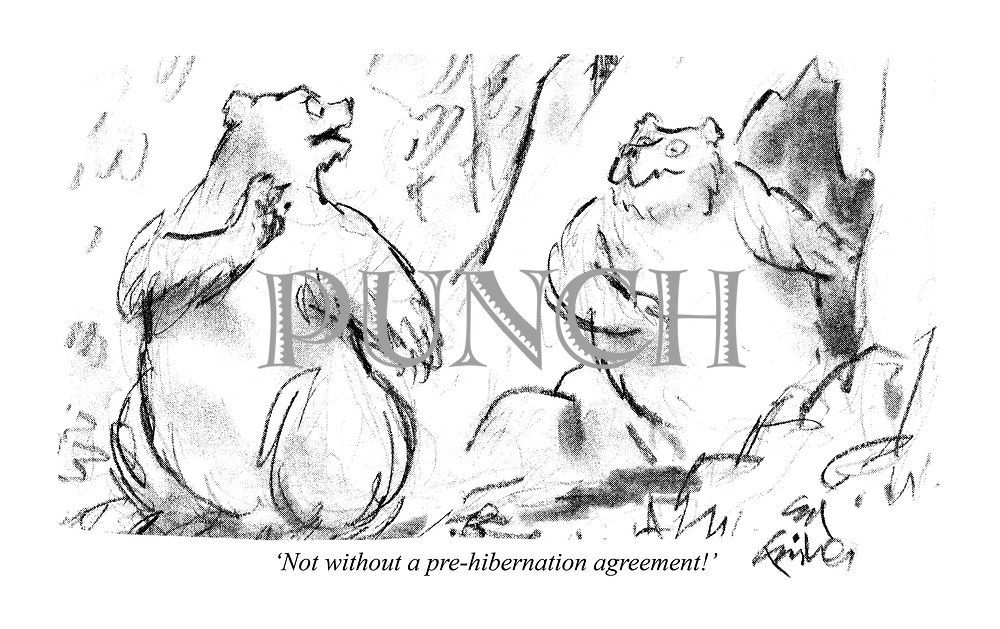 'Not without a pre-hibernation agreement!'