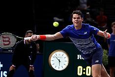 BNP Paribas Tennis Masters - Milos Raonic - Paris