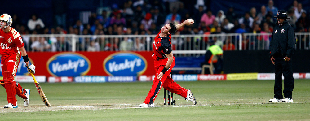Daniel Christian of South Australian Redbacks during match 11 of the Airtel CLT20 between The South Australian Redbacks and The Royal Challengers Bangalore held at Kingsmead Stadium in Durban on the 17 September 2010..Photo by: Gerhard Duraan/SPORTZPICS/CLT20.