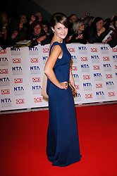 Paula Lane  at the National Television Awards held in London on Wednesday, 25th January 2012. Photo by: i-Images
