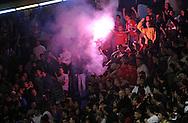 KOSARKA, BEOGRAD, 24. Dec. 2010. -  Navijaci Crvene zvezde. Utakmica 13. kola NLB lige  u sezoni (2010/2011) izmedju Crvene zvezde i Zagreba. Foto: Nenad Negovanovic
