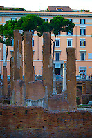 ROME, ITALY - JUNE 03: Illustration of Rome; Italy on June 03, 2012. Field of Mars - Near Torre Argentina.