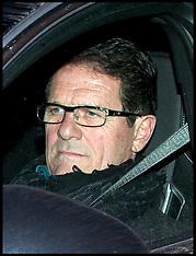 England Manger Fabio Capello resigns